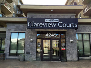 1 bedroom units & bedroom units condo (Clareview LRT Station)
