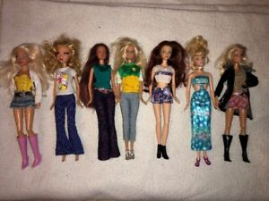 Barbie Dolls with Clothes