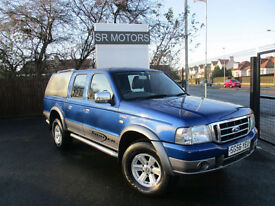2006 Ford Ranger 2.5TDdi XLT Thunder Double Cab(LEATHER,HISTORY,WARRANTY)