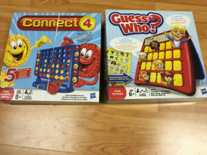 Guess who et connect 4