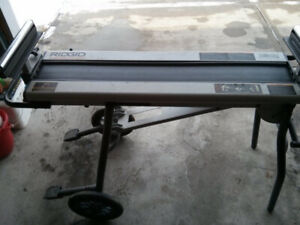 Ridgid portable Miter saw extendable stand and/or work table