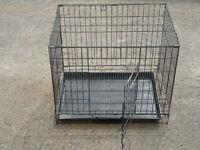 cage avec plateau