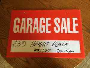 Moving - Large Garage Sale