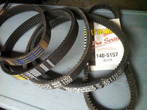 SNOWMOBILE DRIVE BELTS AND REPAIR SERVICE