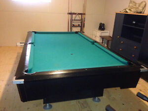 Table de pool 4x8 en ardoise