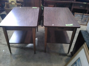 endtables $10. each