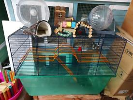 Savic Gerbilarium & Syrian Hamster Cage XL