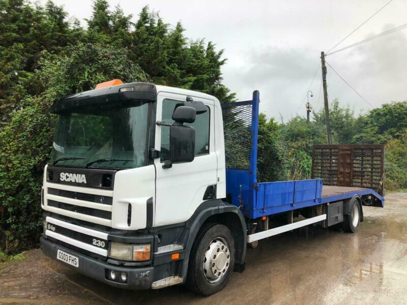 SCANIA 94D 230 FLATBED PLANT BEAVERTAIL HYDRO RAMP WINCH MANUAL GEARBOX 18  TON | in Weston-super-Mare, Somerset | Gumtree