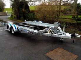 Car transporter trailer tilt bed 14x6,6 Dale Kane car transporter