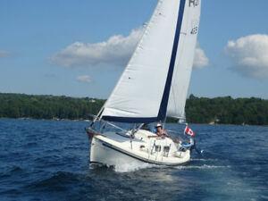 Halman 21 sailboat