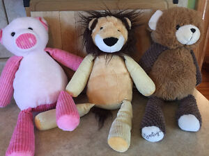 Three Scentsy Buddies Adult Owned in Great Condition