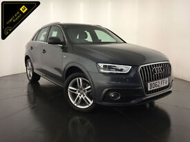 2012 62 AUDI Q3 S LINE TDI DIESEL 1 OWNER SERVICE HISTORY FINANCE PX WELCOME