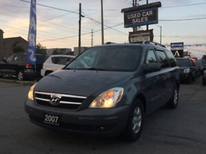 *LOW KMS*CERTIFIED*2007 Hyundai Entourage GL w/DVD Minivan, Van