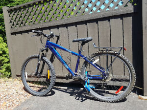 Norco mountain bike with lock and tire pump.  Great shape!