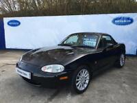 2001 Mazda MX-5 1.8 ( Classic Black ) Jasper Conran Ltd Edn Convertible