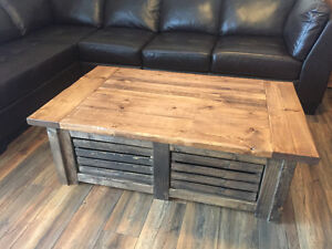 Custom Made Rustic Furniture (Toddler Tables, Benches, Etc) Strathcona County Edmonton Area image 9
