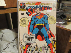 25 Comic Books--Superman-The Flash-Worlds Finest--15 -25 cents