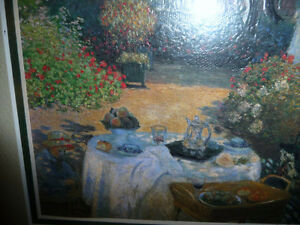 "Claude Monet ""The Luncheon (Monet's Garden At Argenteuil)"" 1873 Stratford Kitchener Area image 3"