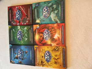 The 39 Clues (set of 6 books)