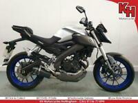 Yamaha MT-125 Silver 2014 - USD Forks, Sports Exhaust - Warranty