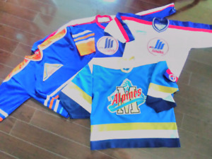 MONCTON HOCKEY OLDER JERSEY COLLECTION