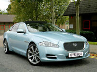 2011 61 Jaguar XJ 3.0 TD Portfolio 4dr 275hp WITH FJSH+GIGANTIC SPEC!