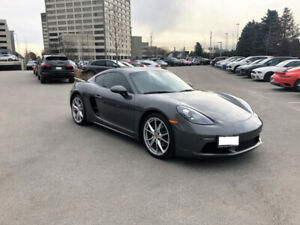 2018 Porsche 718 Cayman - One Owner, Low KM, Manual Transmission