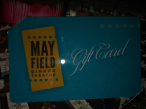 Mayfield Dinner Theatre Gift Card