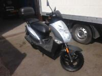 2016 Reg Kymco Agility 50cc Scooter Twist & Go Auto 3385 KM's from NEW £795 p/x