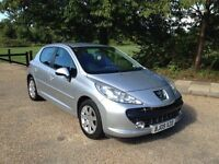 PEUGEOT 207 1.6 SPORT 2009 AUTOMATIC. ONLY DONE 56k WITH FULL HISTORY. 1 YEARS MOT. DRIVES PERFECT.