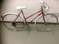 PEUGEOT LADIES BIKE RED SIZE 51CM SMALL