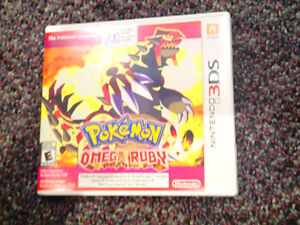 POKEMON OMEGA RUBY ~ MINT CONDITION