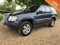 2004 54 JEEP GRAND CHEROKEE 2.7 LIMITED CRD 5D AUTO 161 BHP DIESEL