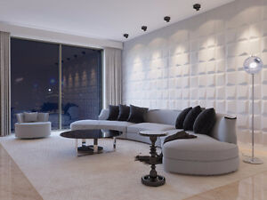 3-D WALL PANEL TO CREATE SUCCESSFUL DESIGN