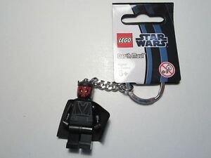 Lego Star Wars #850446 Darth Maul Minifig Keychain Brand New