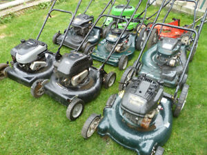 LAWNMOWERS FOR SALE TUNED UP