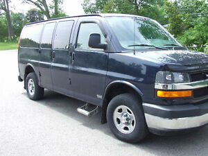 Chevrolet Express Van wheelchair