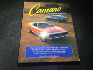 1967-1981 Camaro Restoration Handbook by Ron Sessions Z/28 RS/SS