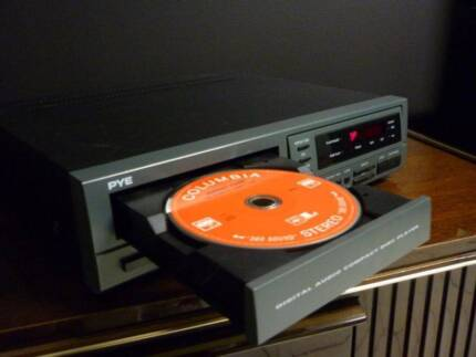 Vintage quality pure CD player