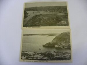 Two vintage St. Johns Newfoundland Post Cards $40.00 ono