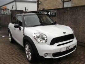 11 61 MINI COUNTRYMAN 2.0D COOPER S DIESEL 5DR WHITE HUGE SPEC LEATHER B/TOOTH