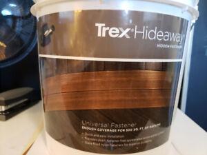TREX Hideaway Hidden Fasteners