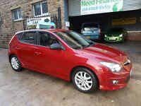 Hyundai I30 1.6 CRDI COMFORT AUTO (red) 2012