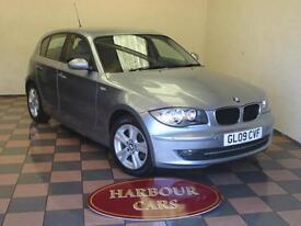 2009 09 BMW 118 2.0d SE, Diesel, 5 Door, Bluewater Metallic