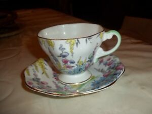 vintage Foley cup and saucer