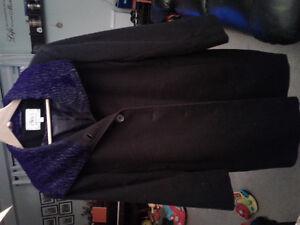 Womens Black Dress coat
