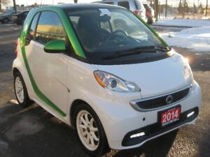 2014 Smart Fortwo Electric, Navigation, Loaded, Perfect Conditio