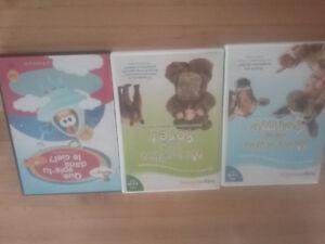Lot de 3 DVDs pour enfants