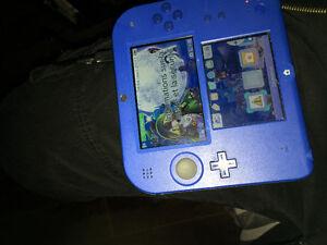 Nintendo 2Ds Bleu **Comme Neuf **