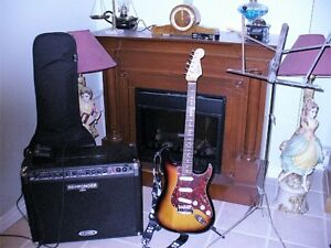 Guitare, amplificateur et plus